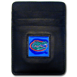 Florida Leather Money Clip (F)