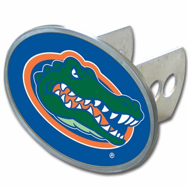 Florida Oval Metal Hitch Cover