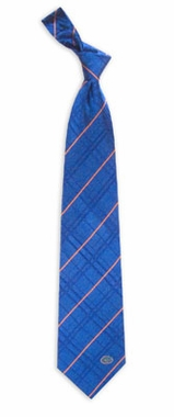 Florida Oxford Stripe Woven Silk Necktie