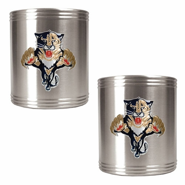 Florida Panthers 2 Can Holder Set