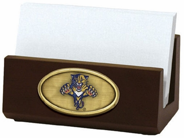 Florida Panthers Business Card Holder