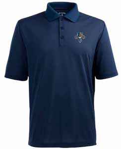 Florida Panthers Mens Pique Xtra Lite Polo Shirt (Color: Navy) - X-Large