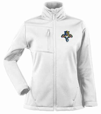 Florida Panthers Womens Traverse Jacket (Color: White)