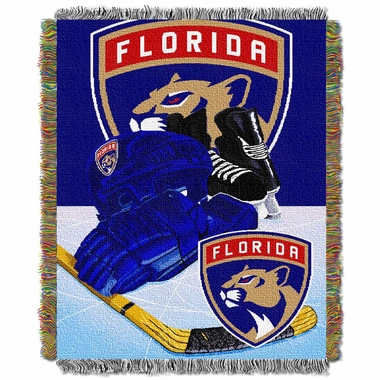 Florida Panthers Woven Tapestry Blanket