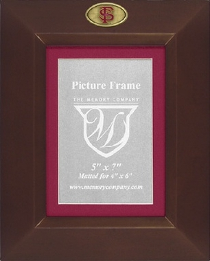 Florida State BROWN Portrait Picture Frame
