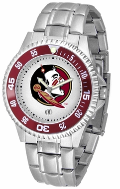 Florida State Competitor Men's Steel Band Watch