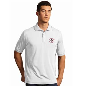 Florida State Mens Elite Polo Shirt (Color: White) - XXX-Large