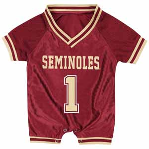 Florida State Infant Pounce Football Jersey Onesie - 3-6 Months