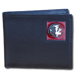 Florida State Leather Bifold Wallet (F)