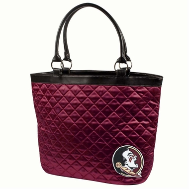 Florida State Quilted Tote