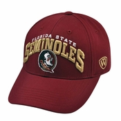 a0c424df992 Florida State Seminoles Men s Top of the World WHIZ Adjustable Hat