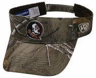 e238b35eda9 Florida State Seminoles Top of the World Realtree Xtra Adjustable Visor