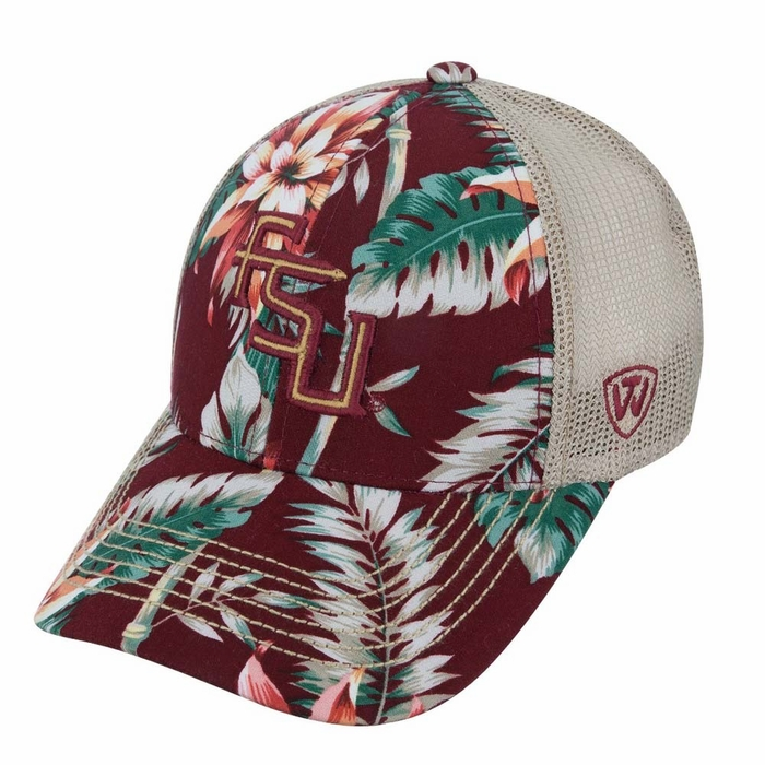 de43cdc6517 Florida State Seminoles Top of the World Shore Adjustable Mesh Back Hat
