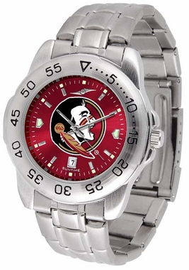 Florida State Sport Anonized Men's Steel Band Watch