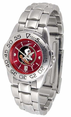Florida State Sport Anonized Women's Steel Band Watch