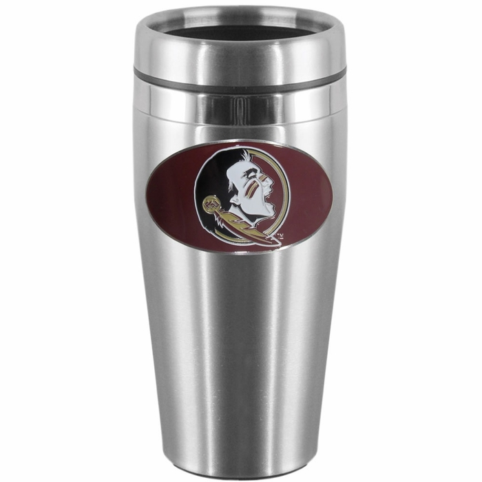 florida state steel travel mug. Black Bedroom Furniture Sets. Home Design Ideas