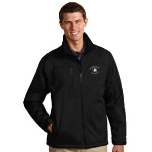 Florida State Mens Traverse Jacket (Color: Black) - Small