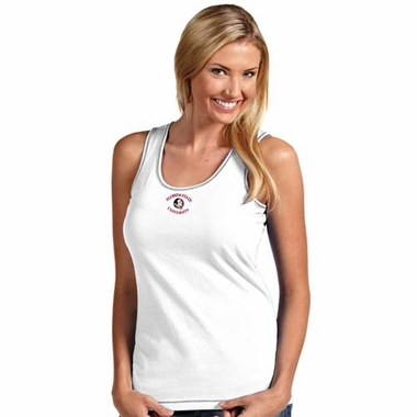 Florida State Womens Sport Tank Top (Color: White)