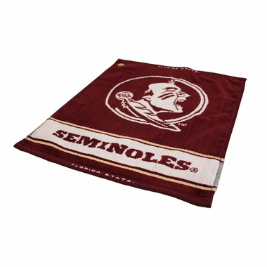 Florida State Woven Golf Towel