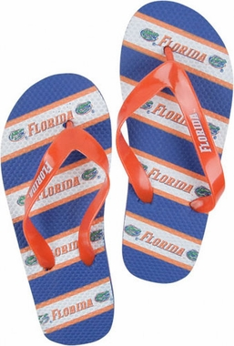 Florida Unisex Striped Flip Flops