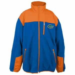 Florida YOUTH Dobby Full Zip Polar Fleece Jacket - Small