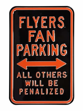 Flyers / Penalized Parking Sign