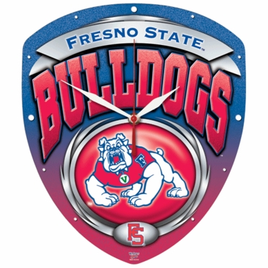 Fresno State High Definition Wall Clock