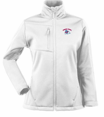 Fresno State Womens Traverse Jacket (Color: White)