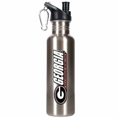 Georgia 26oz Stainless Steel Water Bottle (Silver)