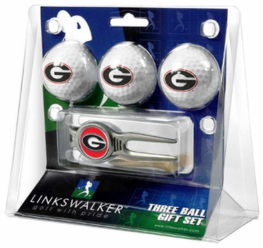 Georgia 3 Ball Gift Pack With Kool Tool
