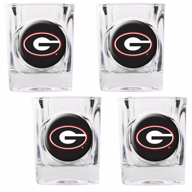 Georgia 4 Piece Shot Glass Set