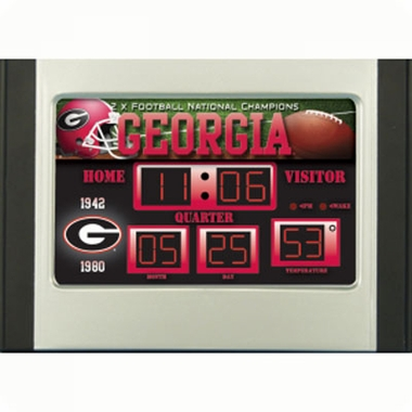 Georgia Alarm Clock Desk Scoreboard