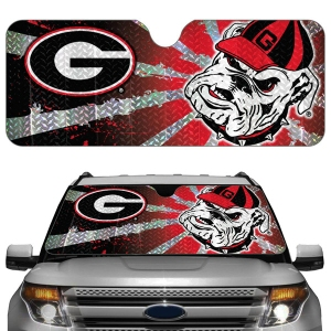 Georgia Bulldogs Auto Sun Shade