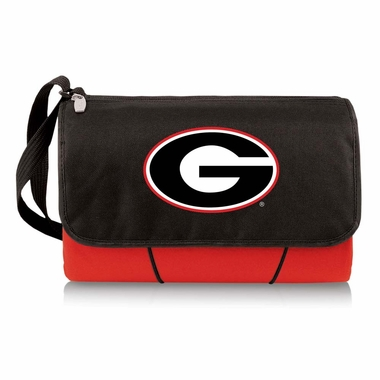 Georgia Blanket Tote (Red)