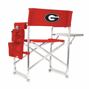 Georgia Embroidered Sports Chair (Red)