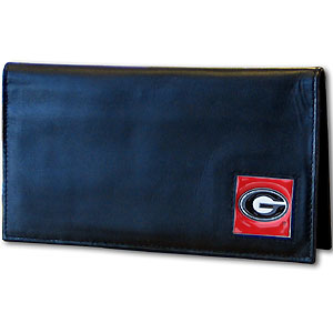 Georgia Leather Checkbook Cover (F)