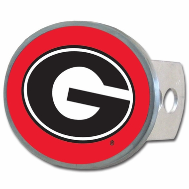 Georgia Oval Metal Hitch Cover