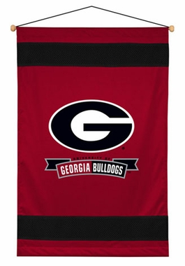 Georgia SIDELINES Jersey Material Wallhanging