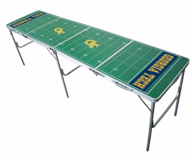 Georgia Tech 2x8 Tailgate Table
