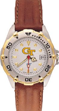 Georgia Tech All Star Womens (Leather Band) Watch