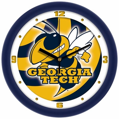 Georgia Tech Dimension Wall Clock
