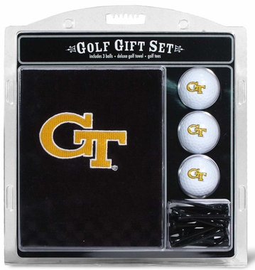 Georgia Tech Embroidered Towel Golf Gift Set