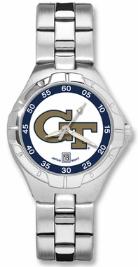 Georgia Tech Pro II Women's Stainless Steel Watch