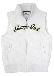 Georgia Tech Womens Bubble Vest - X-Large