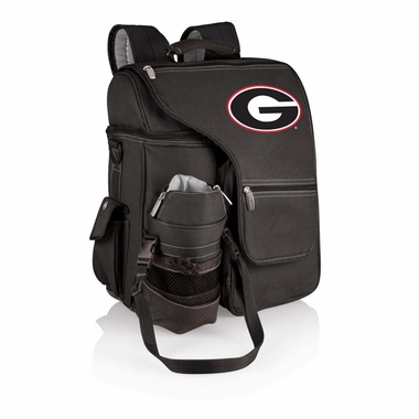 Georgia Turismo Embroidered Backpack (Black)