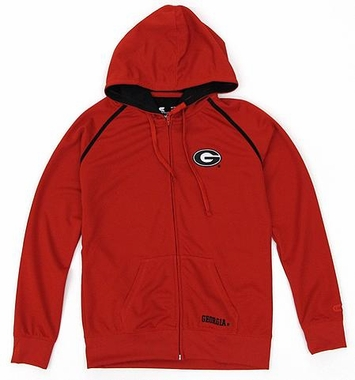 Georgia Women's Full Zip Performance Hooded Sweatshirt