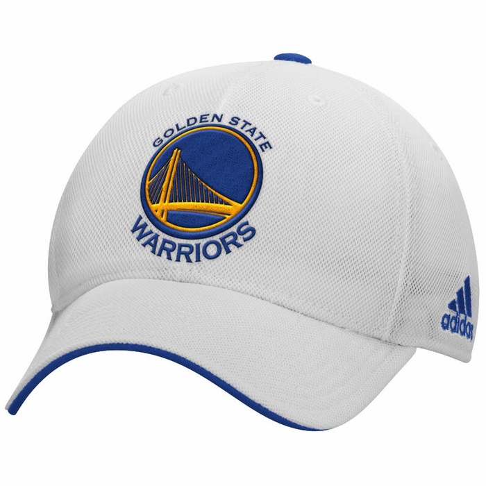 d6560cacdb2 Golden State Warriors Adidas 2015 Authentic Team Structured Adjustable Hat