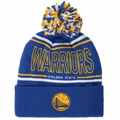 e309f6046a685f Golden State Warriors Adidas Energy StripeCuffed Knit Hat with Pom