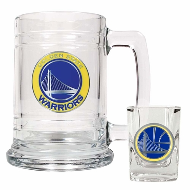 Golden State Warriors Boilermaker Set
