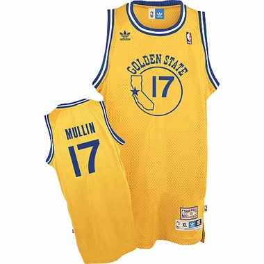 Golden State Warriors Chris Mullin Team Color Throwback Replica Premiere Jersey